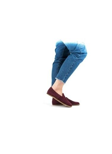 Aintap Ayakkabı Bordo